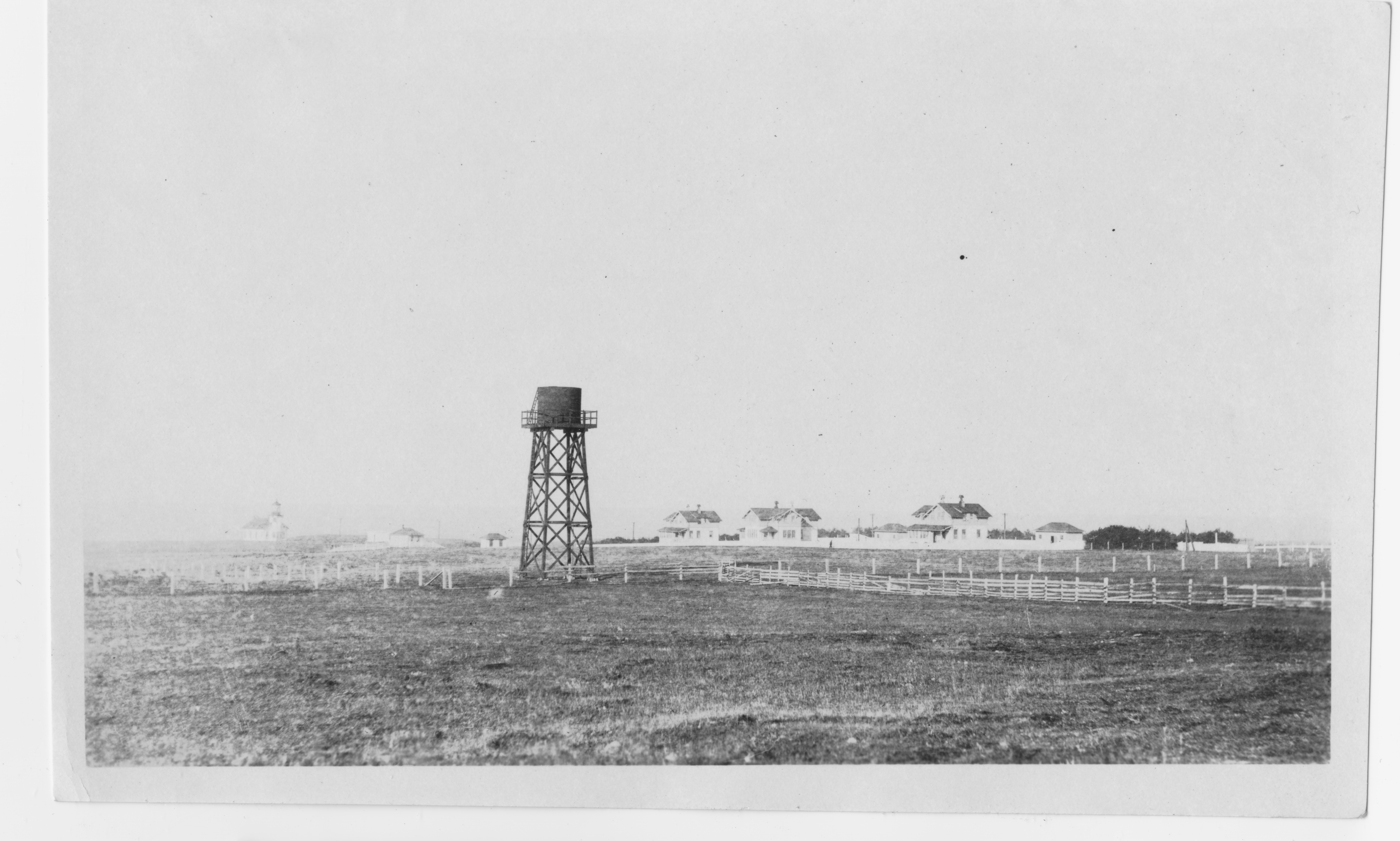 Water Tower and Light Station